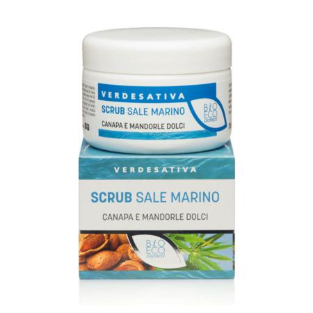 Trattamento esfoliante pelle sale marino